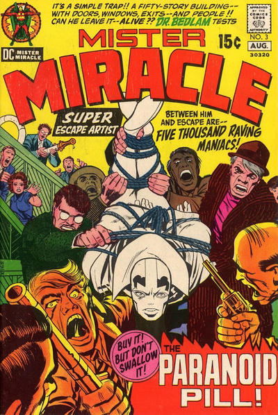 Cover for Mister Miracle (DC, 1971 series) #3