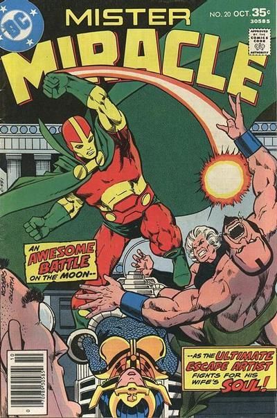 Cover for Mister Miracle (DC, 1971 series) #20