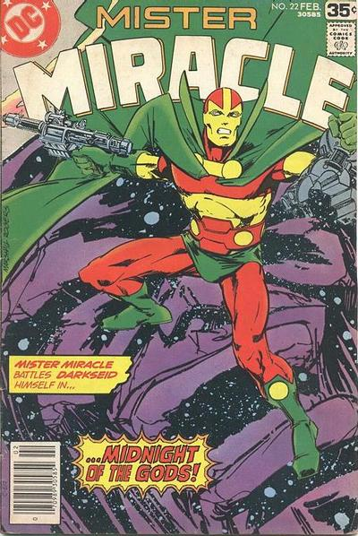 Cover for Mister Miracle (DC, 1971 series) #22