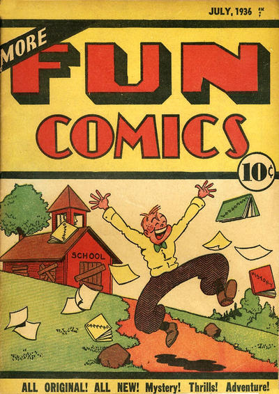Cover for More Fun Comics (DC, 1936 series) #v1#11