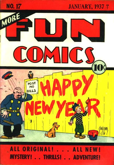 Cover for More Fun Comics (DC, 1936 series) #v2#5 (17)