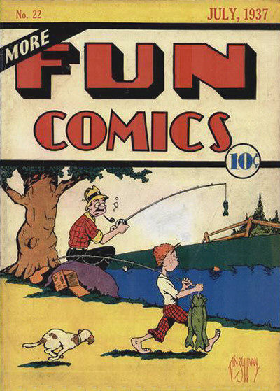 Cover for More Fun Comics (1936 series) #v2#10 (22)