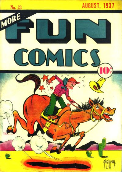 Cover for More Fun Comics (1936 series) #v2#11 (23)