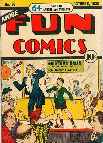 Cover for More Fun Comics (DC, 1936 series) #36