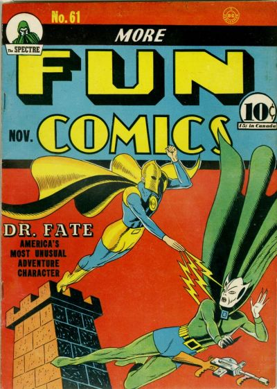 Cover for More Fun Comics (DC, 1936 series) #61