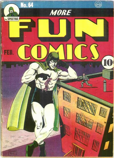 Cover for More Fun Comics (1936 series) #64