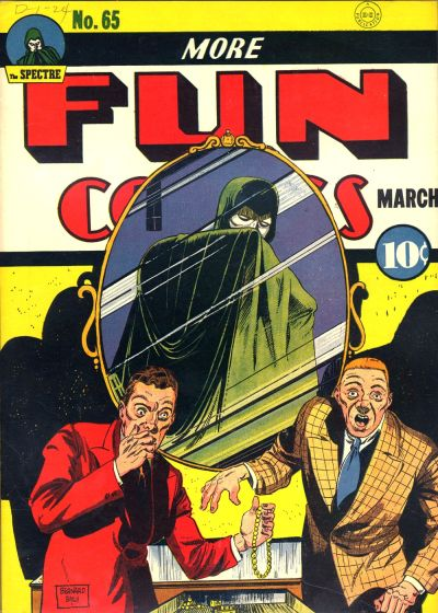 Cover for More Fun Comics (1936 series) #65