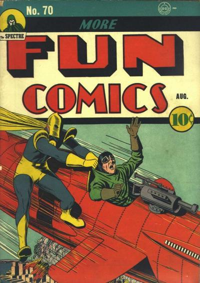 Cover for More Fun Comics (DC, 1936 series) #70