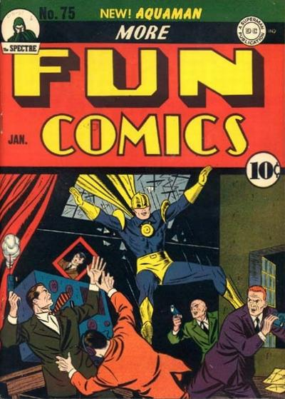Cover for More Fun Comics (1936 series) #75