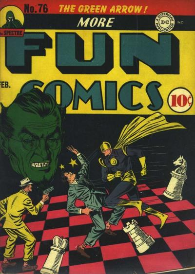 Cover for More Fun Comics (1936 series) #76