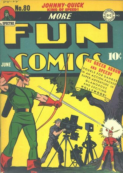 Cover for More Fun Comics (DC, 1936 series) #80