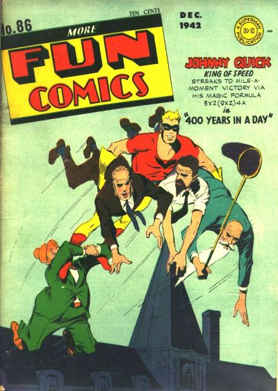 Cover for More Fun Comics (DC, 1936 series) #86