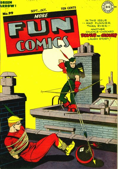 Cover for More Fun Comics (1936 series) #99