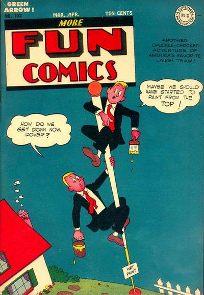 Cover for More Fun Comics (DC, 1936 series) #102