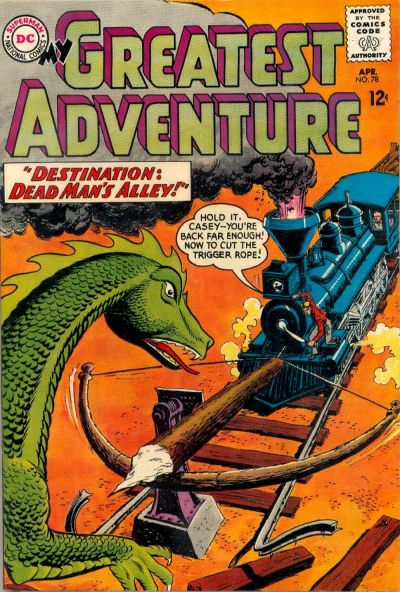 Cover for My Greatest Adventure (DC, 1955 series) #78