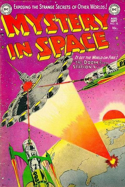 Cover for Mystery in Space (1951 series) #15