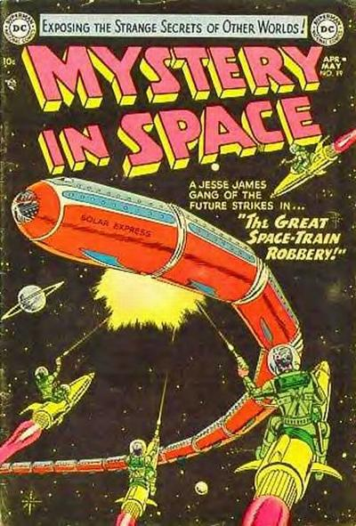 Cover for Mystery in Space (DC, 1951 series) #19
