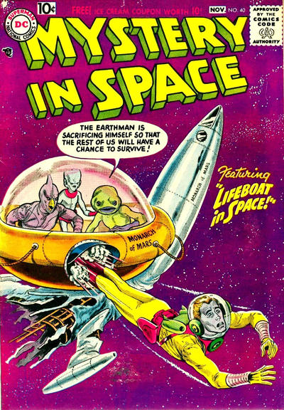 Cover for Mystery in Space (DC, 1951 series) #40
