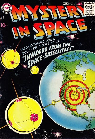 Cover for Mystery in Space (DC, 1951 series) #43
