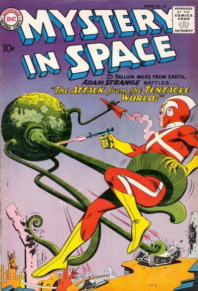 Cover for Mystery in Space (1951 series) #60