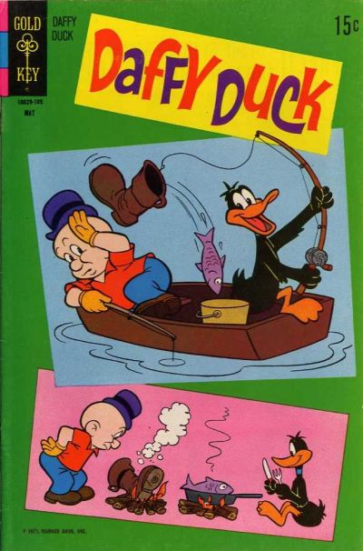 Cover for Daffy Duck (Western, 1962 series) #69