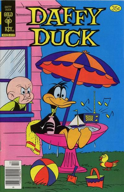 Cover for Daffy Duck (1962 series) #118