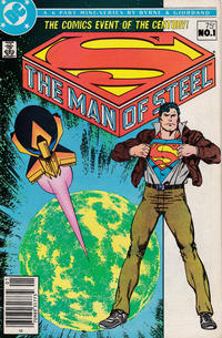Cover for The Man of Steel (DC, 1986 series) #1 [Standard Cover - Direct Sales Edition]