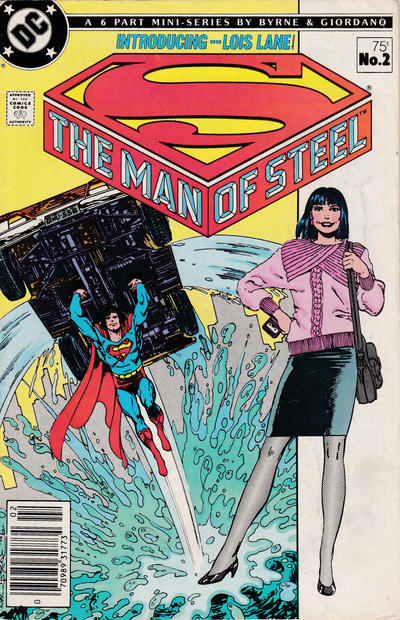 Cover for The Man of Steel (DC, 1986 series) #2