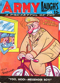 Cover Thumbnail for Army Laughs (Prize, 1941 series) #v5#7