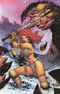 Cover for Red Sonja (Dynamite Entertainment, 2005 series) #12 [George Perez Cover]