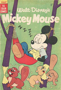 Cover Thumbnail for Walt Disney's Mickey Mouse (W. G. Publications; Wogan Publications, 1956 series) #7