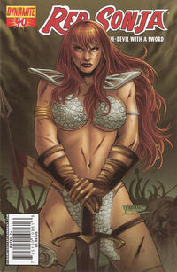 Cover Thumbnail for Red Sonja (Dynamite Entertainment, 2005 series) #40 [Cover A]