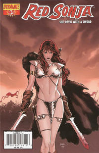 Cover Thumbnail for Red Sonja (Dynamite Entertainment, 2005 series) #45 [Cover A]