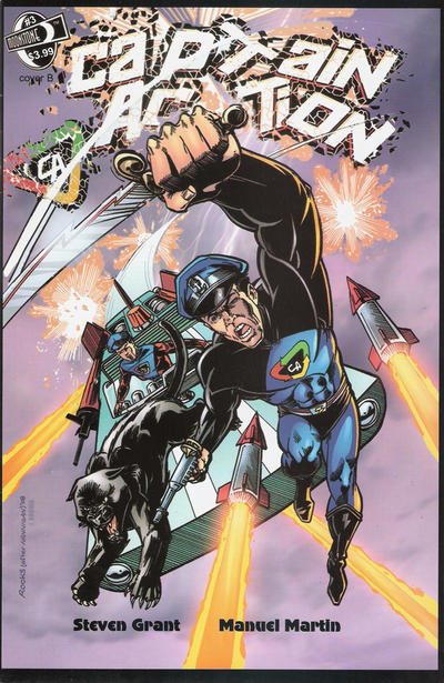 Cover for Captain Action Season Two (Moonstone, 2010 series) #3