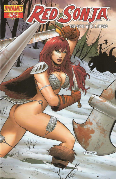 Cover for Red Sonja (Dynamite Entertainment, 2005 series) #32
