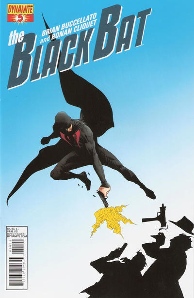 Cover for The Black Bat (Dynamite Entertainment, 2013 series) #5 [Exclusive Subscription Cover]