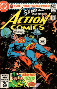 Cover Thumbnail for Action Comics (DC, 1938 series) #513 [Direct Sales Variant]