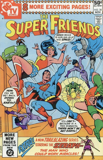 Cover for Super Friends (DC, 1976 series) #38