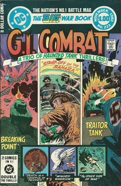 Cover for G.I. Combat (DC, 1957 series) #223