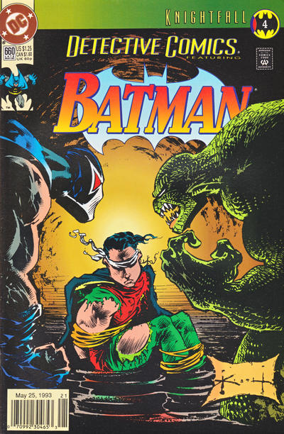 Cover for Detective Comics (DC, 1937 series) #660