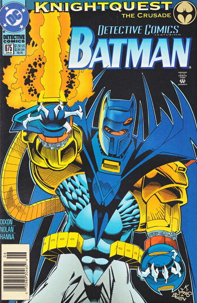Cover for Detective Comics (DC, 1937 series) #675 [Standard Edition]