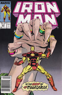 Cover Thumbnail for Iron Man (Marvel, 1968 series) #241 [Newsstand]