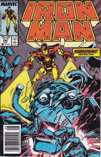Cover Thumbnail for Iron Man (Marvel, 1968 series) #245 [Newsstand]
