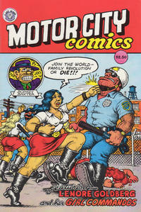 Cover Thumbnail for Motor City Comics (Last Gasp, 1991 series) #1