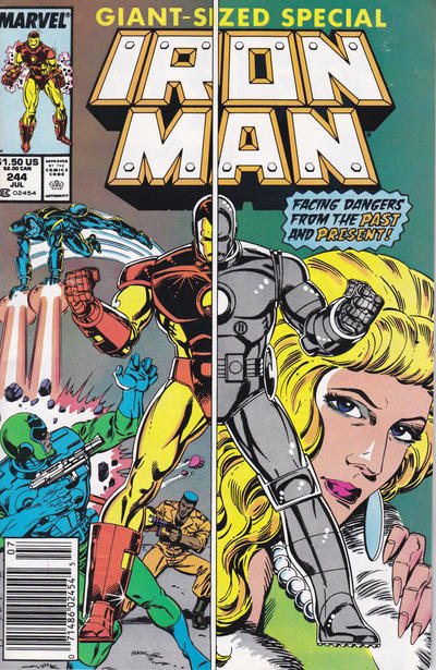 Cover for Iron Man (Marvel, 1968 series) #244 [Direct]