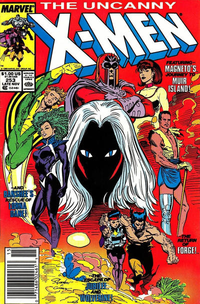 Cover for The Uncanny X-Men (Marvel, 1981 series) #253