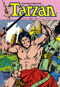Cover Thumbnail for Tarzan (Atlantic Förlags AB, 1977 series) #11/1984