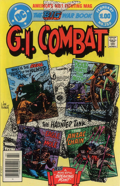 Cover for G.I. Combat (DC, 1957 series) #250 [Direct-Sales]