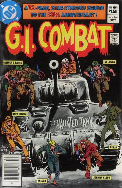 Cover for G.I. Combat (DC, 1957 series) #246