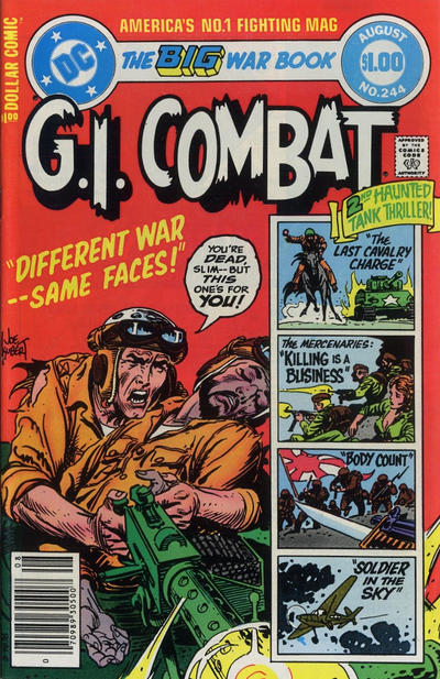 Cover for G.I. Combat (DC, 1957 series) #244